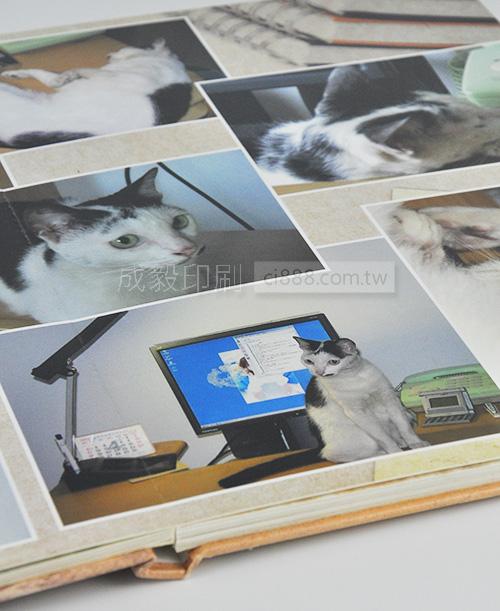 高雄印刷 - 橫A4 厚板蝴蝶相片書-相片書設計印刷