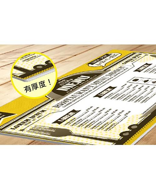 高雄印刷-超厚餐墊卡- 杯墊 / 餐墊設計-客製化印刷創意設計