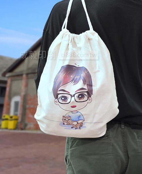 高雄印刷 -束口背包-客製化設計印刷