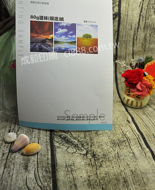 高雄印刷 -A4 80P模造紙DM-80P客製化印刷創意海報DM設計