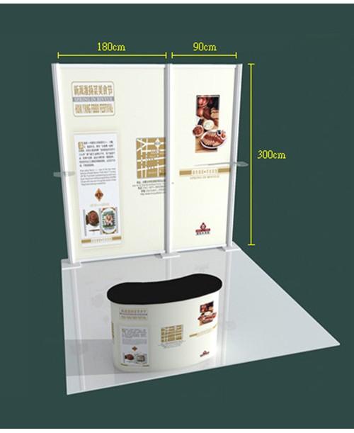 高雄印刷-特展3x3-B型- 特展系列製作-大圖展示器材製作