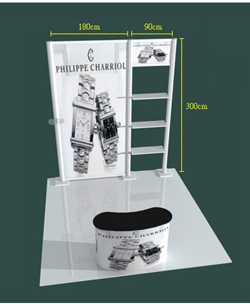 高雄印刷-特展3x3-C型- 特展系列製作-大圖展示器材製作