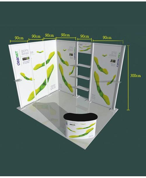 高雄印刷-特展3x3-D型- 特展系列製作-大圖展示器材製作