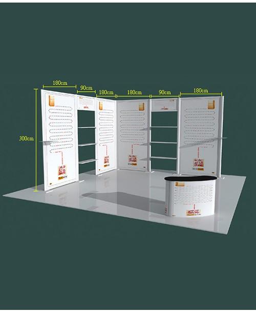 高雄印刷-特展6x6-B型- 特展系列製作-大圖展示器材製作