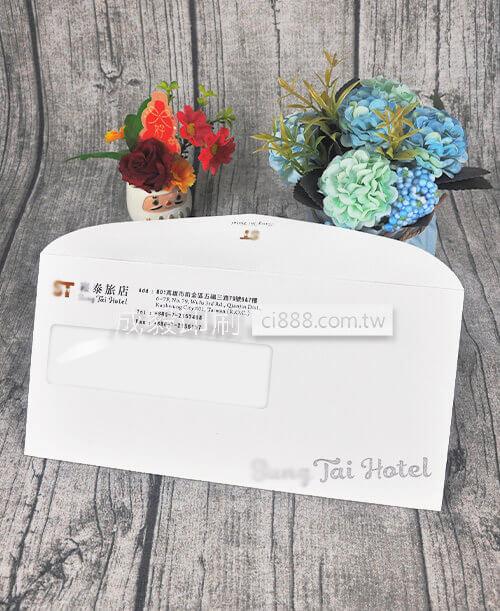 高雄印刷 - 西式12K開窗彩色信封-信封設計印刷