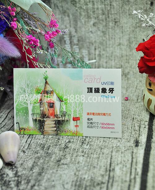 高雄印刷 -頂級象牙卡名片-420p名片印刷設計