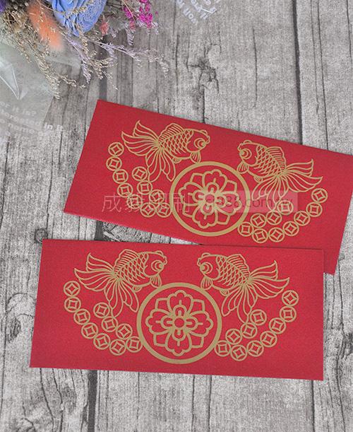 高雄印刷 - 銀河紙燙金-紅包袋客製化設計印刷