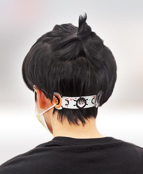 口罩減壓帶 減壓調節 護耳神器 不勒耳朵 客製化設計 設計印刷 高雄印刷